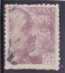 Stamps : Europe : Spain :  general Franco  (21)
