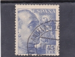 Stamps Spain -  general Franco  (21)
