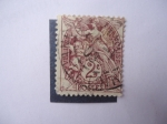 Stamps France -  Blanc.