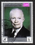 Stamps Yemen -  Dwight Eisenhower