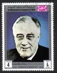 Sellos del Mundo : Asia : Yemen : Franklin D. Roosevelt