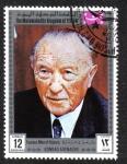 Sellos de Asia - Yemen -  Konrad Adenauer