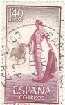 Sellos de Europa - España -  1262 - Tauromaquia, citando al toro