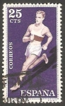 Stamps Spain -   1306 - Atletismo