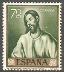 Stamps Spain -  1332 - El Greco