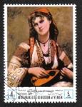 Sellos de Asia - Yemen -  Día de la Madre : pinturas Mujeres