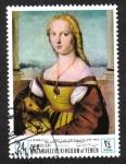 Stamps Yemen -  Día de la Madre : pinturas Mujeres