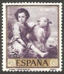 Sellos de Europa - España -   1270 - Pintura de Bartolomé Esteban Murillo
