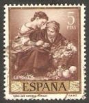 Stamps Spain -  1279 - Pintura de Bartolomé Esteban Murillo