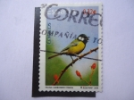 Stamps Spain -  Ed:4462 - Fauna: Carbonero Común