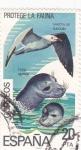 Stamps Spain -  protege la fauna  (21)
