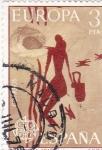 Sellos de Europa - España -  EUROPA-CEPT- cueva de la araña (21)