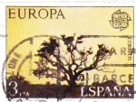 Stamps : Europe : Spain :  EUROPA-CEPT-parque de Doñana  (21)