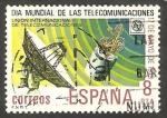 Stamps Spain -  2523 - Día Mundial de las Telecomunicaciones