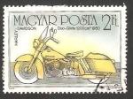 Stamps Hungary -  3018 - Harley Davidson