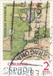 Sellos de Europa - España -  carta nautica siglo XIV (21)