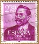Stamps Spain -  Centenario del nacimiento de VAZQUEZ DE MELLA