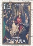 Sellos del Mundo : Europa : España : navidad-(greco)  (21)