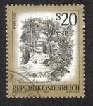 Sellos de Europa - Austria -  Myra Waterfalls, Muggendorf (Lower Austria)