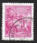 Sellos de Europa - Austria -  Esterhazy Palace, Eisenstadt