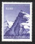 Sellos de Europa - Austria -  Observatory Sonnblick, 75th anniversary
