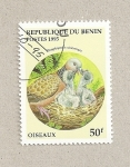Stamps Benin -  Pájaros