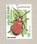 Stamps Benin -  Lilioceris