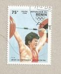 Stamps Benin -  Juegos Olimpicos Atlanta