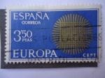 Sellos de Europa - España -  Serie Europa -CEPT.