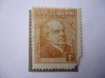 Stamps Argentina -  Domingo F. Sarmiento 1811-1888.