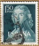 Stamps Europe - Spain -  Centenario del nacimiento de LEANDRO FERNANDEZ DE MORATIN