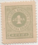 Stamps Montenegro -  Y & T Nº 13 Taxe