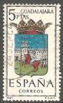 Sellos de Europa - España -  1489 - Escudo de la provincia de Guadalajara