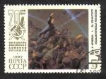 Sellos de Europa - Rusia -  70 aniversario de la Gran Revolución de Octubre