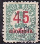 Stamps : Europe : Spain :  Cifras sobrecargadas