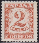 Stamps : Europe : Spain :  Junta de defensa Nacional