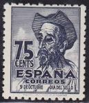 Stamps : Europe : Spain :  IV centenario del nacimiento de Cervantes