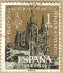 Stamps Spain -  XXV Aniversario Exaltacion General Franco