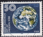 Stamps : Europe : Germany :  Tierra