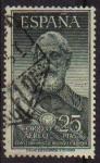 Sellos de Europa - España -  ESPAÑA 1953 1124 Sello Legazpi Yv 262 valor catalogo 45€ Usado