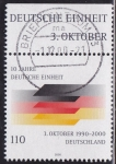 Stamps : Europe : Germany :  Bandera