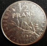 monedas de Europa - Francia -  1986 (Reverso)