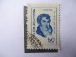 Stamps Argentina -  General, Manuel Belgrano.