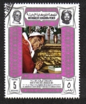 Sellos de Asia - Yemen -  Quinto aniversario de Pablo VI visita a Jerusalén