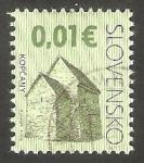 Stamps : Europe : Slovakia :   521 - Capilla romana Santa Margarita de Antioche de Kopcany