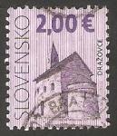 Stamps : Europe : Slovakia :  528 - Iglesia romana San Miguel Arcangel de Drazovce