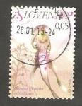 Stamps Slovenia -  Himantoglossum adriaticum