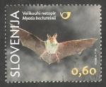 Sellos del Mundo : Europa : Eslovenia : Murciélago