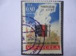 Stamps Venezuela -  Planta Siderurgica del Orínoco - Primera Colada de Acero.
