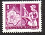 Stamps Hungary -  Transporte y Telecomunicaciones